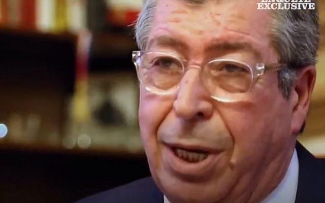 Patrick Balkany, maire de Levallois-Perret, risque la prison pour plusieurs affaires de blanchiments et de fraudes fiscales. (Crédit : capture d'écran M6)