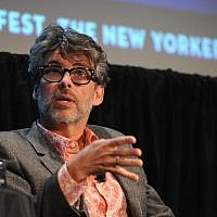 L'écrivain Michael Chabon prenant la parole au New Yorker Festival 2014 le 10 octobre 2014 à New York. (Photo par Andrew Toth/Getty Images pour le New Yorker Festival via JTA)
