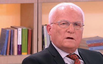 Alain Couanon, ex-otage de l'Hyper Cacher (Crédit: capture d'écran Toute une histoire/Youtube)