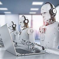 Photo d'illustration : Robots et intelligence artificielle (AI) (Crédit : PhonlamaiPhoto; iStock by Getty Images)