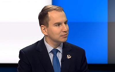 Adam Andruszkiewicz (Capture d'écran : YouTube)