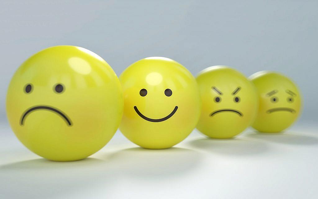 Illustration d'un smiley souriant (Crédit : PixaBay/domaine public)
