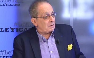 Jean-Richard Sulzer, expert économique du RN (Crédit: capture d'écran Le Figaro/Youtube)