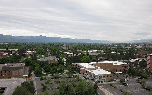 Le Campus de l'université du Montana, à Missoula. (Crédit : Dsetay/CC BY-SA 3.0)