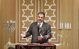 La rabbin Gabriel Farhi (crédit: Azuelos5/Wikimedia Commons)