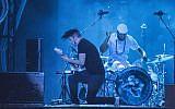 Jack White au  Music Midtown 2014 atuPiedmont Park d'Atlanta au mois de septembre 2014 (Crédit :  Katie Darby/Invision/AP)