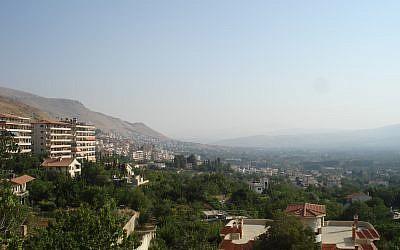 Vue de Zabadani en 2007 (Crédit: Wikimedia Commons)