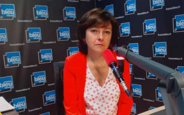 Carole Delga, présidente de la région Occitanie (Capture d'écran : YouTube)