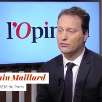 Sylvain Maillard (Crédit : capture d'écran YouTube/L'Opinion)