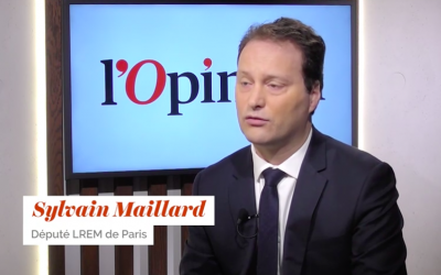 Sylvain Maillard (Crédit : capture d'écran YouTube/L'Opinion)