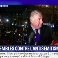 Gérard Larcher, le 19 février 2019 (Crédit : capture d'écran BFMTV)