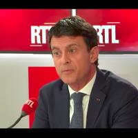 Manuel Valls, le 21 février 2019 (Crédit : capture d'écran RTL)