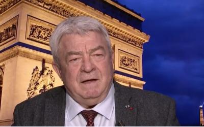 L'ex-ministre des Transports Jean-Claude Gayssot (Crédit: capture d'écran I24News)