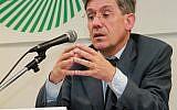 Le député français Charles Amédée du Buisson de Courson, en 2002. (Crédit : CC BY-SA 3.0)