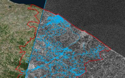 La start-up israélienne Utilis se sert d'images satellistes pour détecter et prévenir des fuites d'eau. (Autorisation)