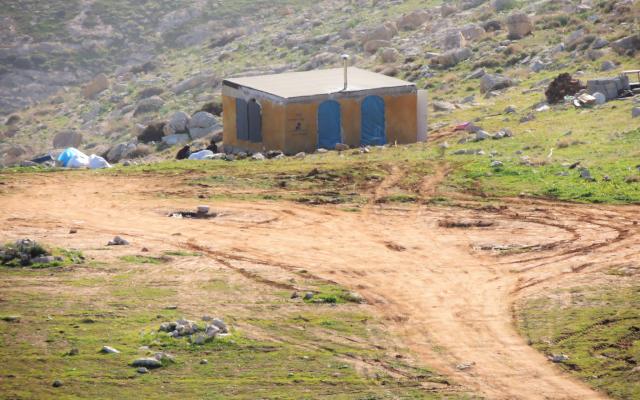 Une partie de l'implantation de Tekoa E dans le sud de la Cisjordanie en janvier 2019 (Paix maintenant).