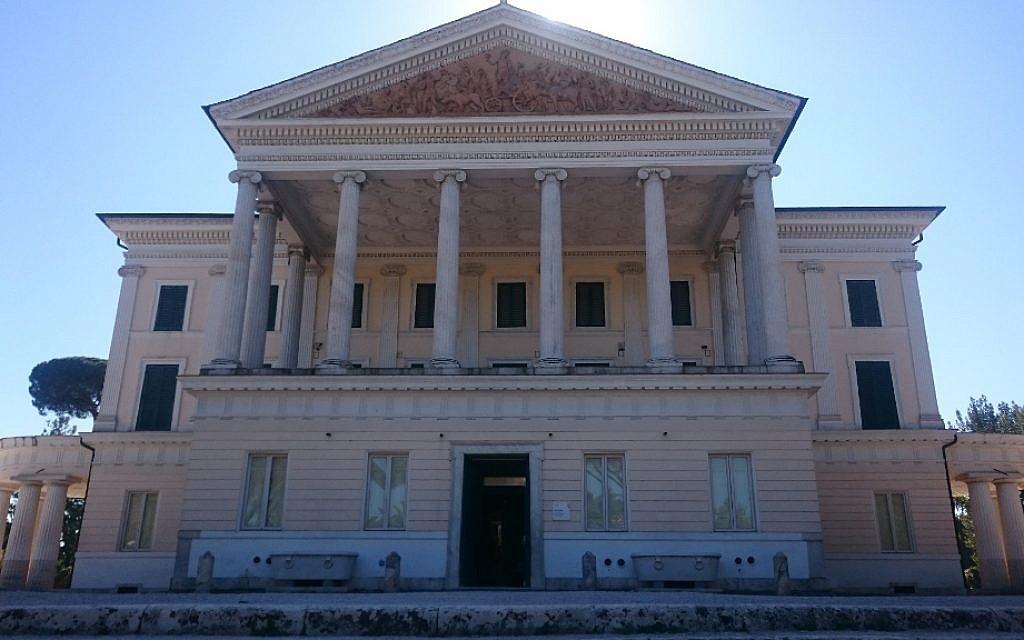Villa Torlonia. (Avec l'aimable autorisation d'Amir Genach)