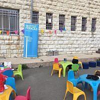 Le centre culturel français à Jérusalem-Est (Crédit : Facebook/Institut français de Jérusalem - Chateaubriand)