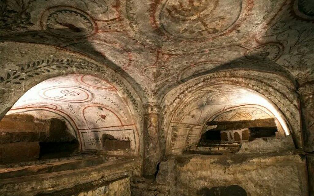 Une des salles à fresques de la Villa Torlonia. (Avec l'aimable autorisation d'Amir Grenach)