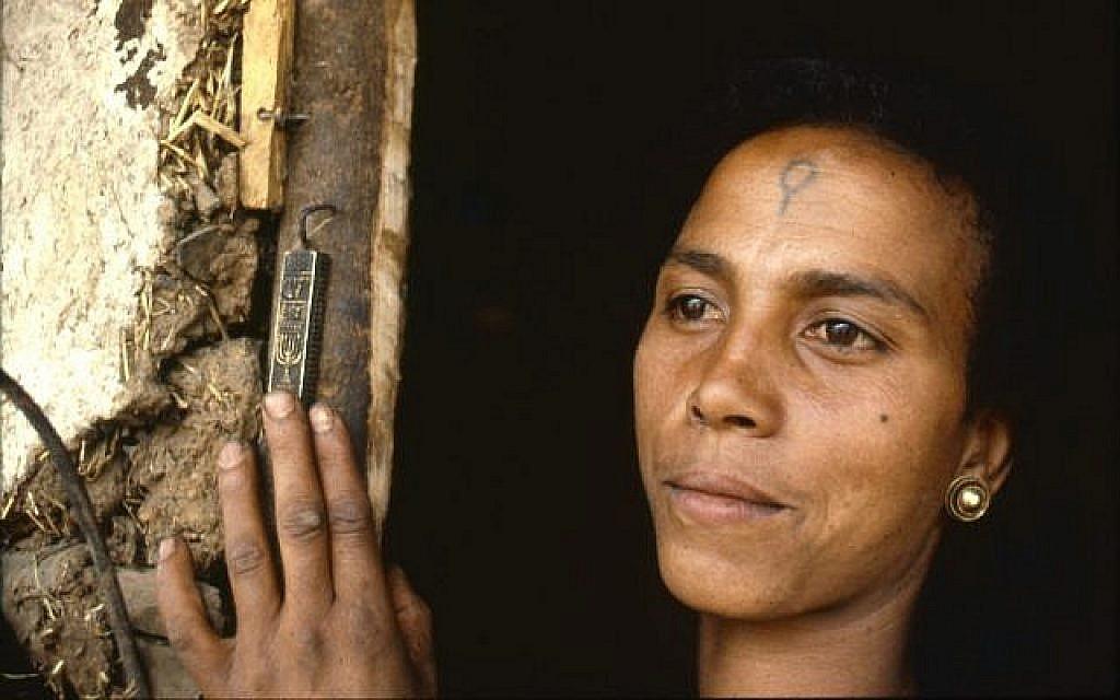 Berchko Adela quand elle était une petite fille en Ethiopie, avant l'Opération Moïse. Maitenant âgée de 68 ans, elle est mariée et mère de cinq enfants. Elle vit à Ashdod en Israël. (Beth Hatfutsot/via JTA)