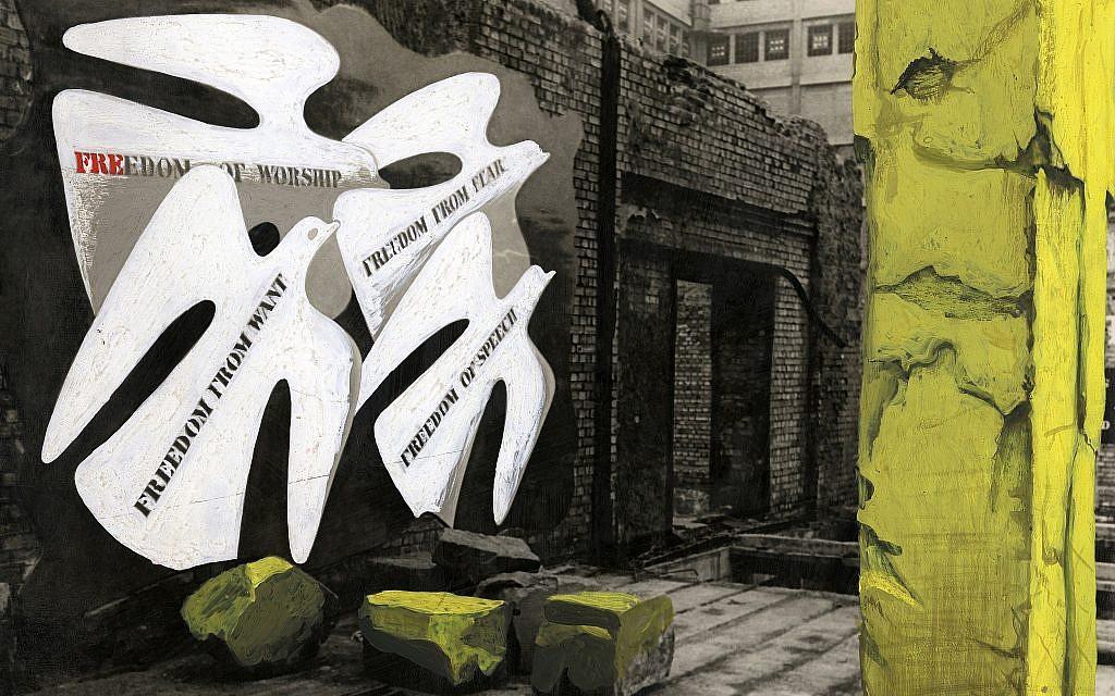 Une oeuvre d'art présentée dans le cadre du festival 'Insiders/Outsiders' (Autorisation)