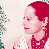 Helena Rubinstein, 1953 ; Paris, Archives Helena Rubinstein - L'Oréal ; conception graphique Doc Levin