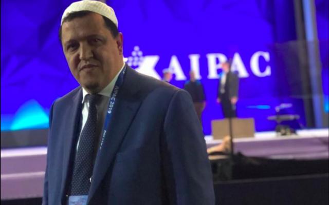 L'imam Hassan Chalghoumi a participé à la conférence de l'AIPAC 2019. (Crédit photo : Hassan Chalghoumi / Facebook)
