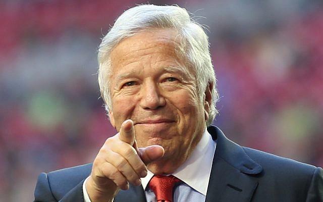 Robert Kraft, philanthrope et propriétaire du club de football américain New England Patriots, lauréat du Prix Genèse 2019. (Genesis Prize Foundation)