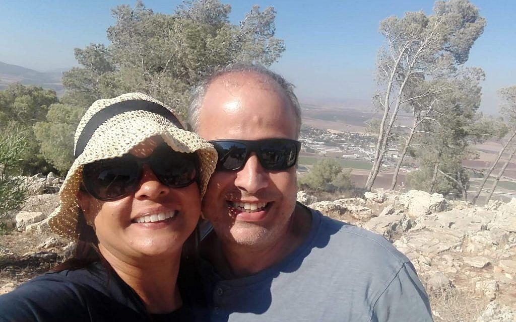Moises et Monica Ayach. (Autorisation)