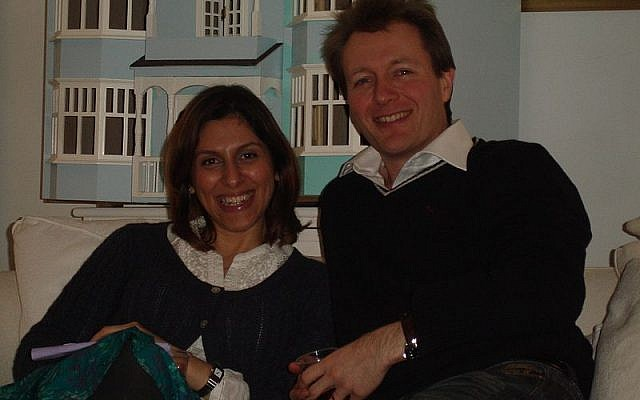 Nazanin Zaghari-Ratcliffe et son mari Richard Ratcliffe en 2011. (CC BY-SA, Wikimedia)