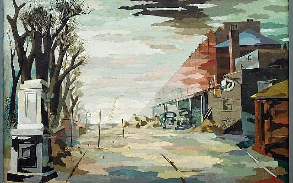 Détail de 'Haverstock Hill,' (1938) de Walter Nessler, autorisation de la Pallant House Gallery, qui est l'une des oeuvres présentées dans le cadre du festival 'Insiders/Outsiders'. (Autorisation des héritiers de l'artiste)