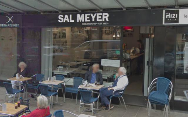 Le restaurant casher Sal Meijer à Amsterdam, Pays-Bas. (Capture d'écran : Google Street View)