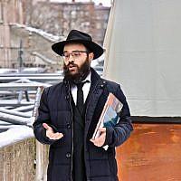 Le grand-rabbin estonien Shmuel Kot. (Facebook)