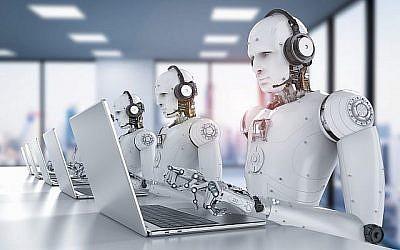 Image d'illustration de robots et d'intelligence artificielle (PhonlamaiPhoto; iStock par Getty Images).