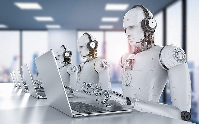 Image d'illustration de robots et d'intelligence artificielle (PhonlamaiPhoto; iStock par Getty Images).