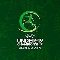 Logo du Championnat d'Europe des moins de 19 ans de l'UEFA, organisé en juillet prochain en Arménie. (Crédit : UEFA)