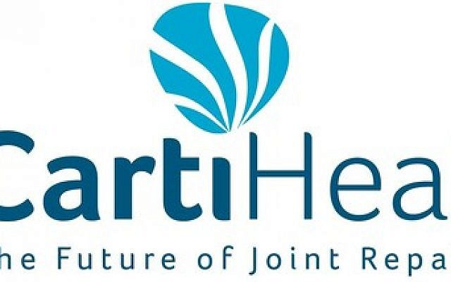 Logo de CartiHeal. (Crédit : PRNewsWire)