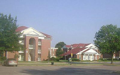 Le Campus d'Arkansas Tech (Crédit : CC-BY SA Zscout370/Wikimedia Commons)