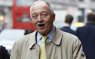 L'ancien maire de Londres, Ken Livingstone. (AP Photo/Kirsty Wigglesworth)