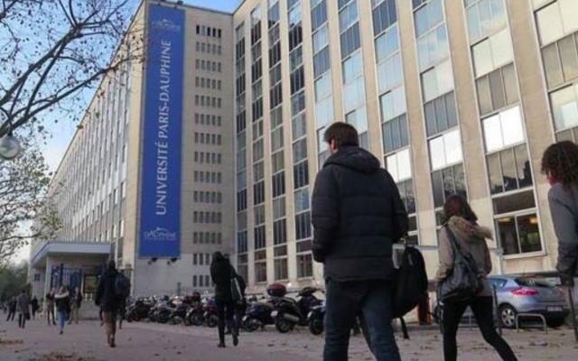 L'université Paris-Dauphine. (Crédit photo : Instagram / UEJF)