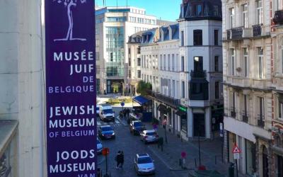 Le Musée juif de Belgique, à Bruxelles. (Crédit photo : Musée juif de Belgique / Facebook)