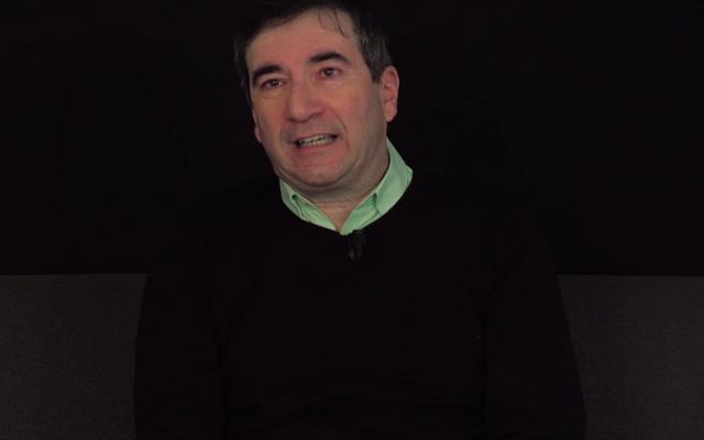Dov Alfon, auteur du livre Unité 8200. (Crédit photo : capture d'écran YouTube / Librairie Mollat)