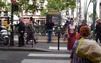 Le onzième arrondissement de Paris.