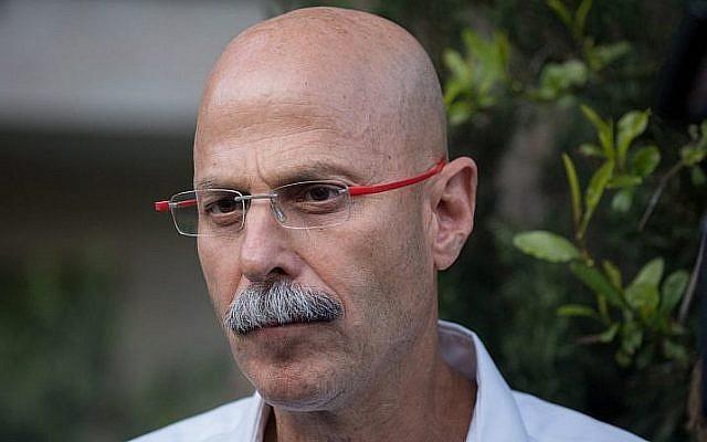 Yaron Blum, coordonnateur pour les négociations sur le retour des prisonniers de guerre et des disparus, le 3 avril 2019. (Yonatan Sindel/Flash90)