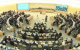 Le Conseil des droits de l'Homme à Genève débat d'une résolution condamnant les actions d'Israël sur le plateau du Golan, le 22 mars 2019 (Capture d'écran :  UN WebTV)