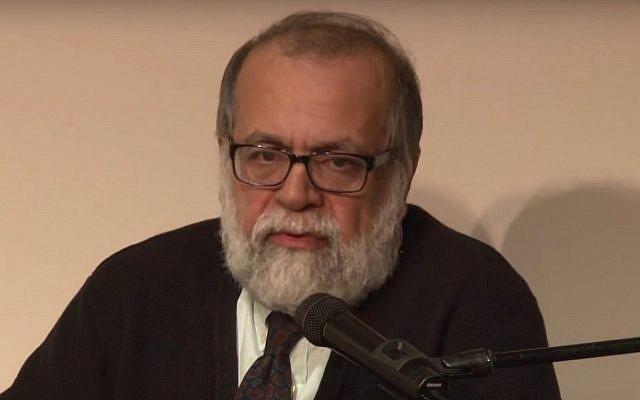 Hamid Dabashi (Crédit : capture d'écran/YouTube)