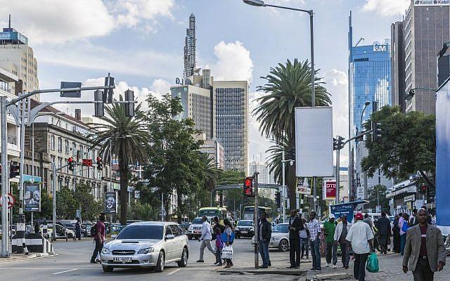 Le centre ville de Nairobi en 2015. (CC BY Ninara, Flickr)