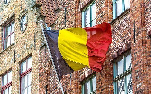 Drapeau de Belgique, à Bruges. (Crédit : stormwatch153 via iStock)