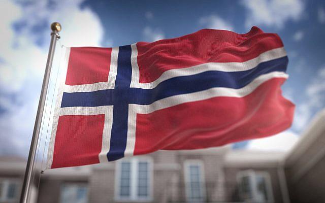 Drapeau de la Norvege. (Crédit : NatanaelGinting via iStock)