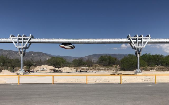 Un système skyTran en phase de teste à Mexico (Autorisation)